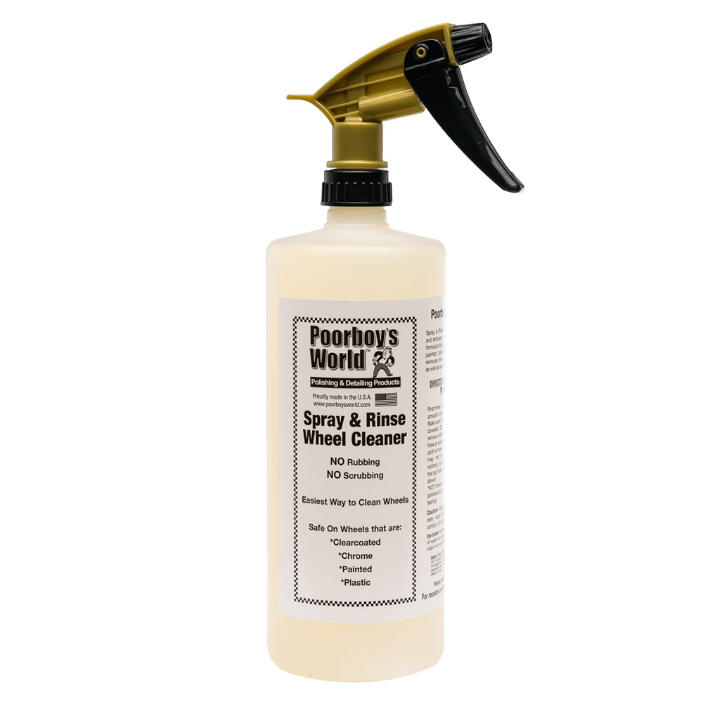 Poorboys Spray & Rinse