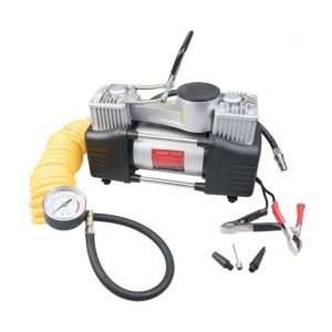 Auto Choice 12V Twin Piston Air Compressor
