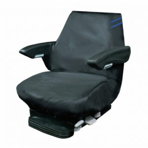 Auto Choice Large Tractor Seat Cover – Blue Detailing