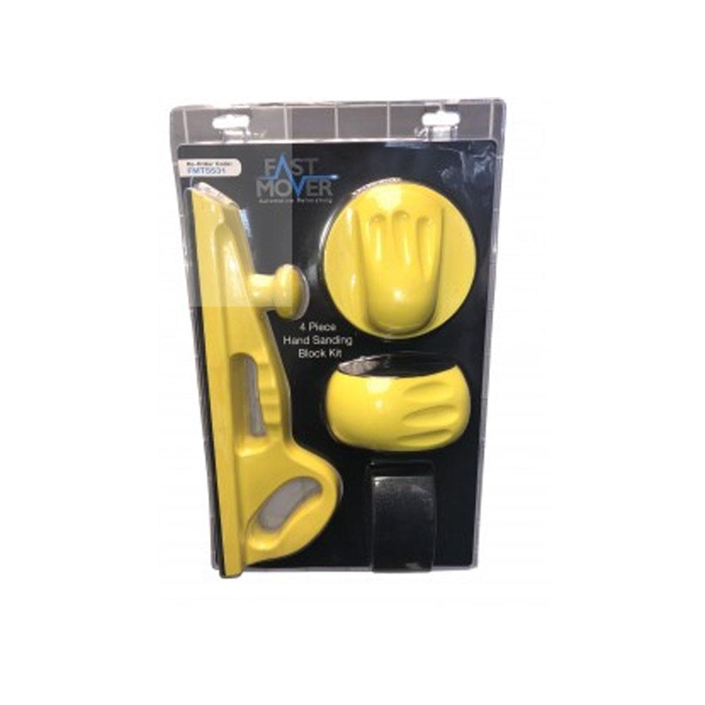 Hand Sanding Block Kit 4pcs