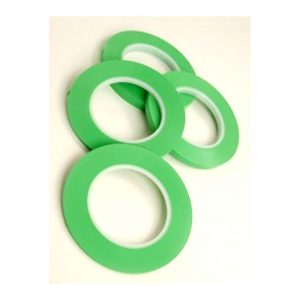 Fast Mover Tools, Green Fine Line Tape, 12mm