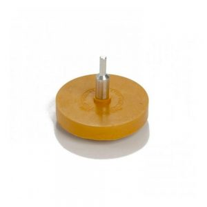 Rubber Eraser Wheel, 84mm, 6mm Arbor, 1pc