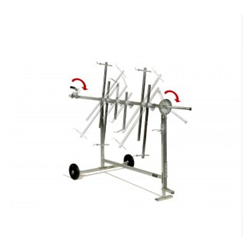 Rotating Panel Stand